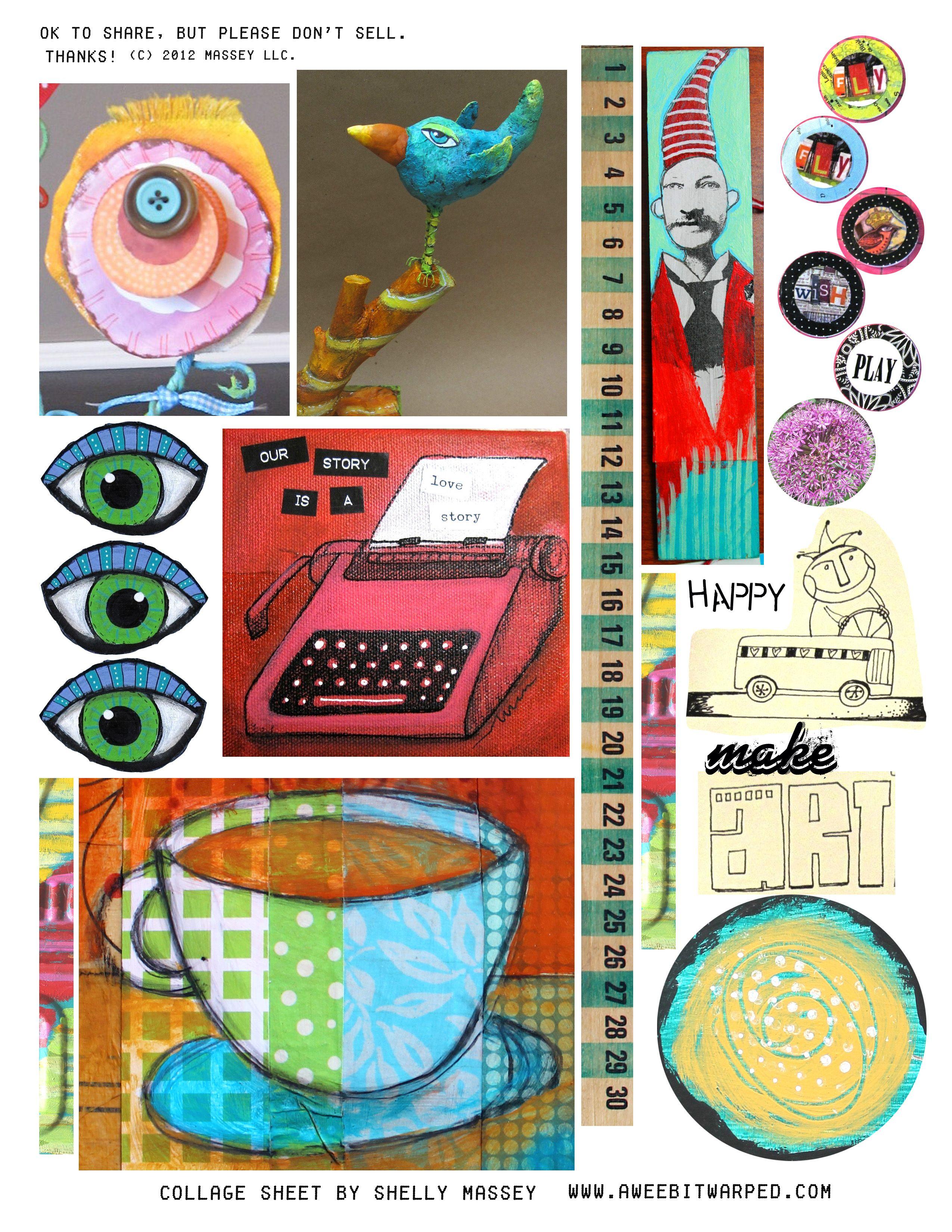 Collage Sheet 2 Free Download Collage Sheet Printable Collage Sheet Free Collage