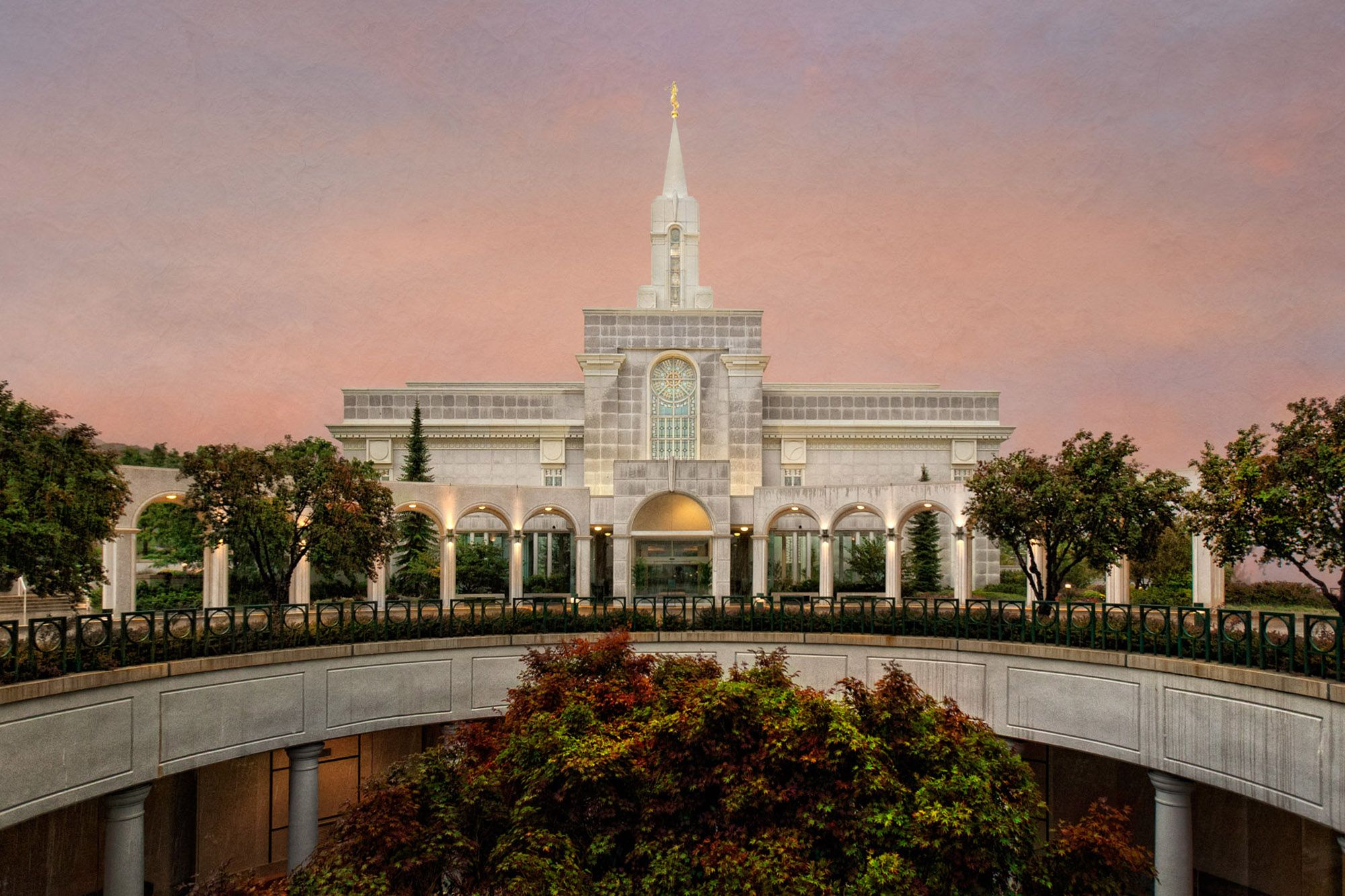 Bountiful Temple Framed Photo beautiful photo! This is the one I ...