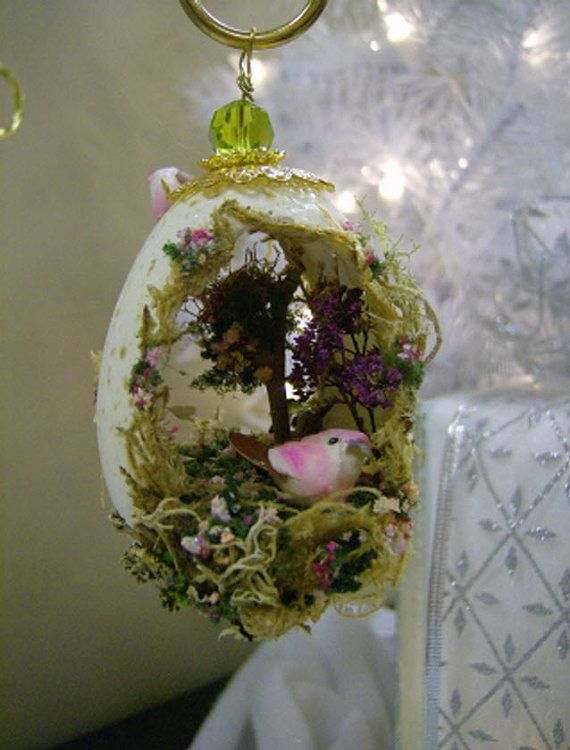Birds of a Feather Turkey Egg Ornament by eggcellentdesigns, $25.00