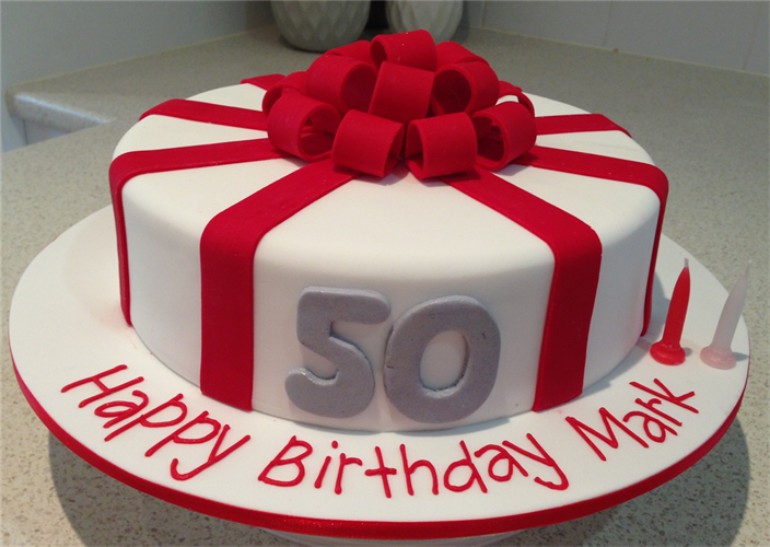 Red And White Birthday Cakes Best Birthday Cake 2018