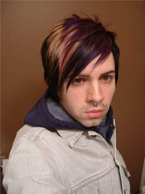 15 Best Emo Hairstyles For Men Emo Hairstyles For Guys Short Emo Hair Emo Hair