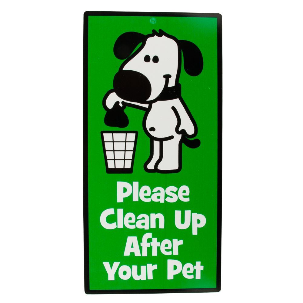 Hillman Quot Please Clean Up After Your Pet Quot Sign Products