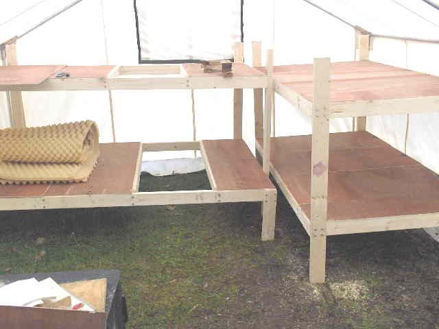 wall tent bed frame - Google Search & wall tent bed frame - Google Search | Camping Fun! | Pinterest