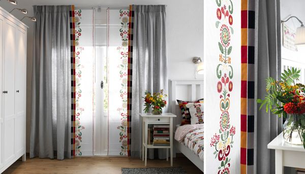 Ikea Curtains Inspiration With Soft Touch Curtain Designs Yellow Home Decor Ikea Curtains