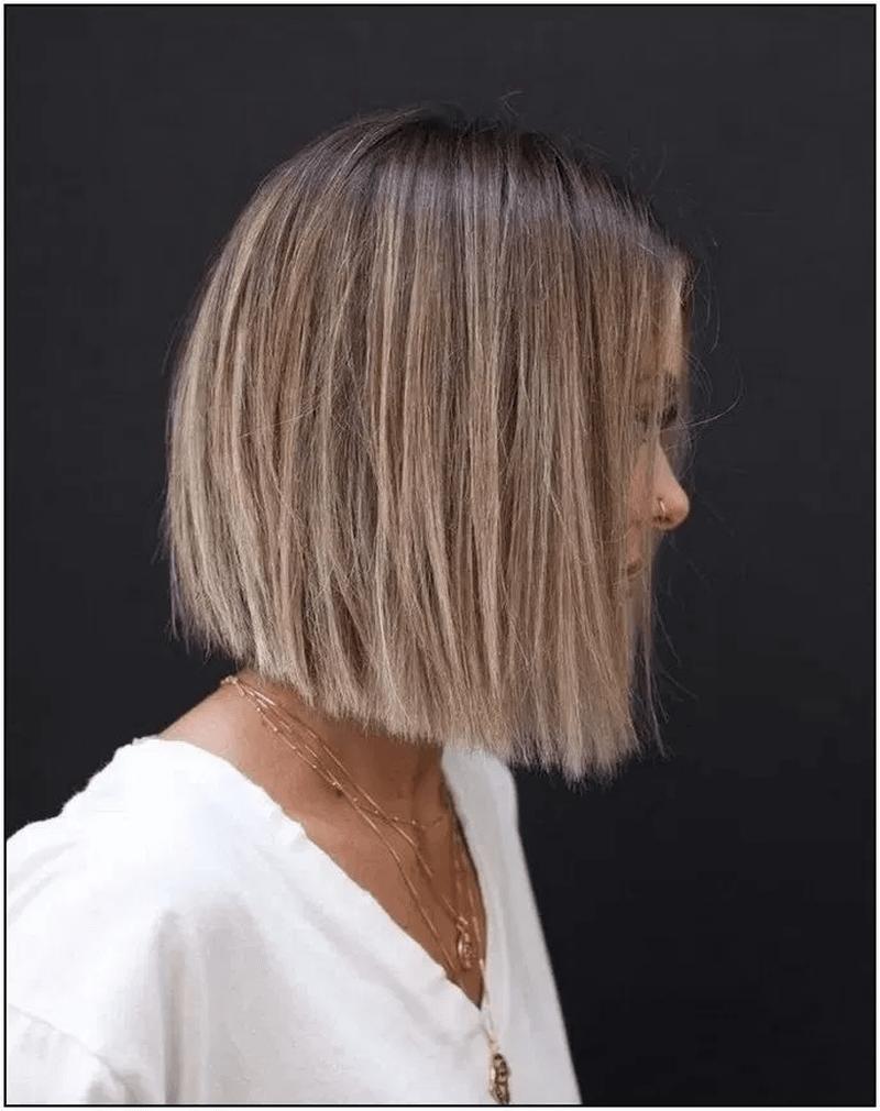 10 Cute Bob Hairstyles for Thin Hair - Fashionnita  Bob haircut