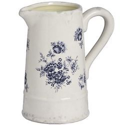 Hill Interiors Floral Ceramic Jug