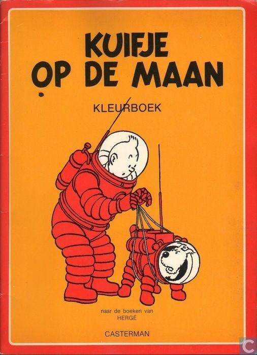 Livre - Tintin - Kuifje op de maan
