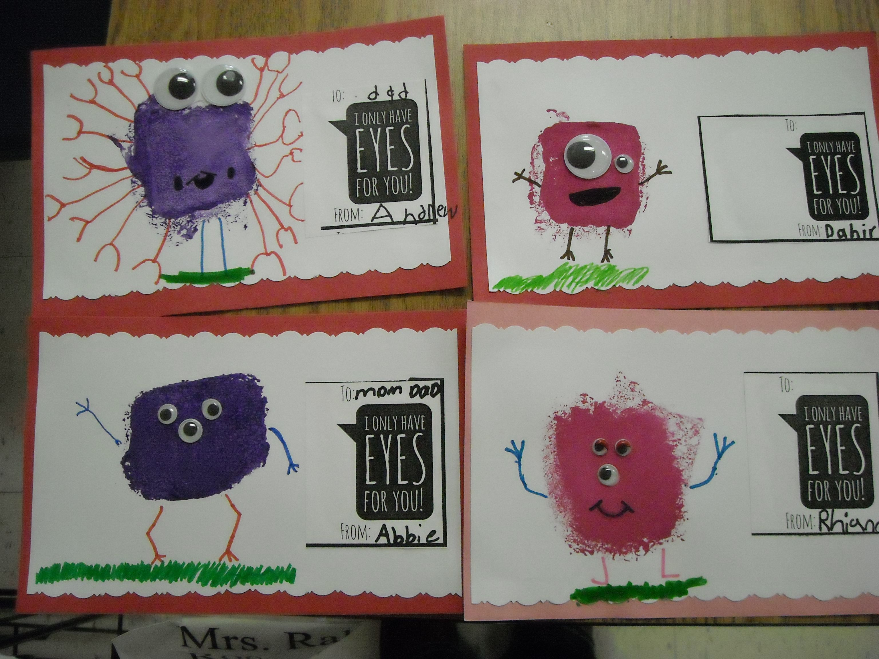 first grade valentine cards too cute