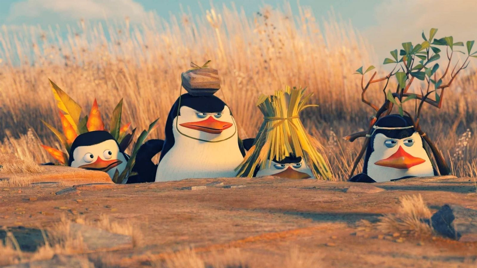 madagascar penguins you didn't see anything gif - google search