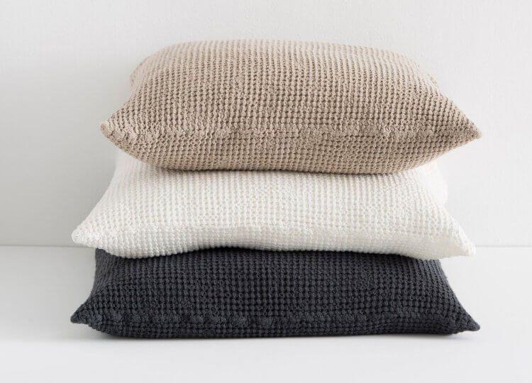 in the sac waffle european pillowcase