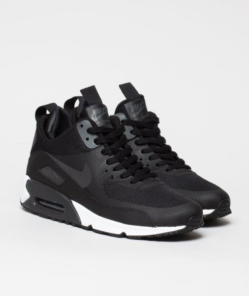 All Black Air Max 90 Sneakerboot Ns Shoes Nike For Mens Well Sports Shoes