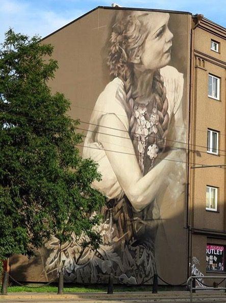 by Guido Van Helten in Tallinn, Estonia, 9/15 (LP)