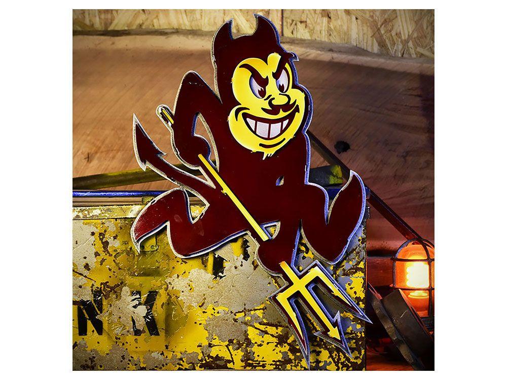 Arizona state sun devils hex head art 24 x 24 logo