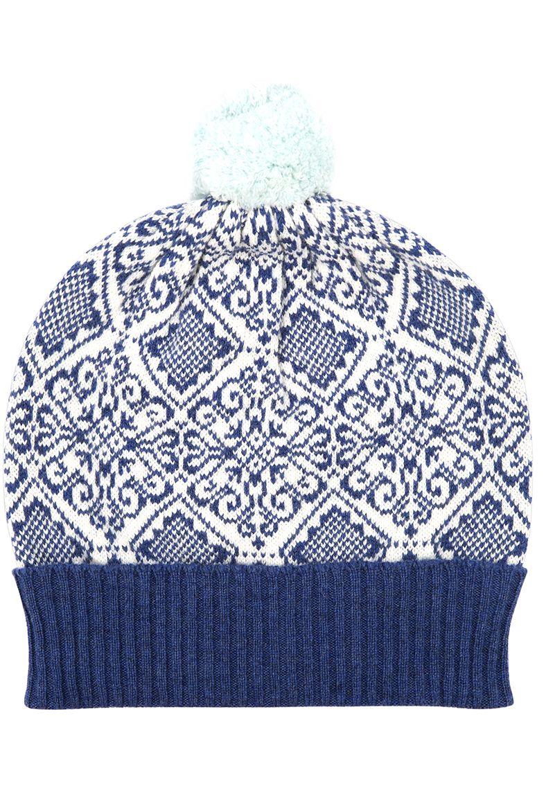 f131a3b85ba8fc Cashmere Nordic Pompom Beanie - Cashmere Hats | Brora | Random ...