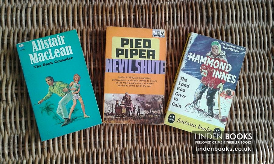 A trio of vintage books with beautiful cover artwork. All for sale in our online shop.