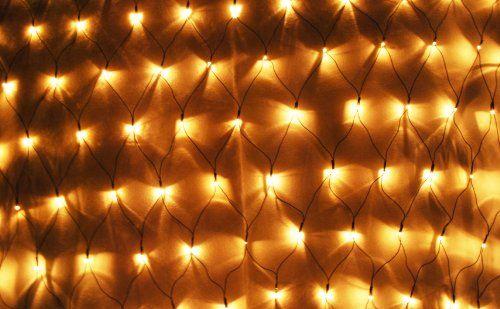 Aleko® EL-N150BB 150 LED Warm White Net Mesh Fairy String Light