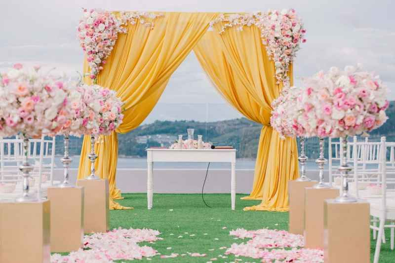Wedding At The Sunset Lawn Crest Resort And Pool Villas Package Et