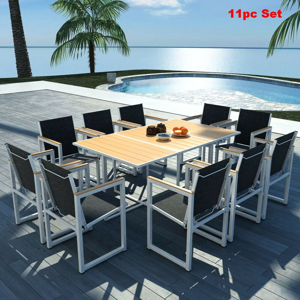 Patio Furniture Sets Clearance Outdoor Garden Dining Table Chair
