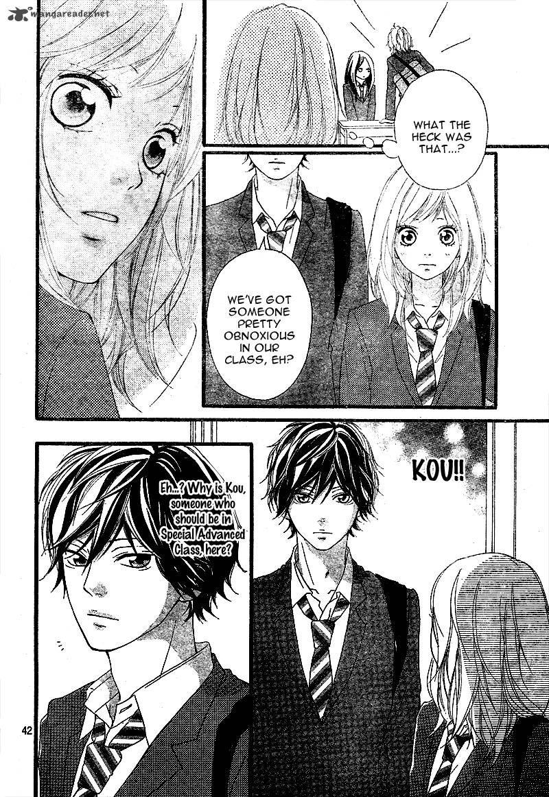 Ao haru ride 3 page 43 anime manga fictional characters