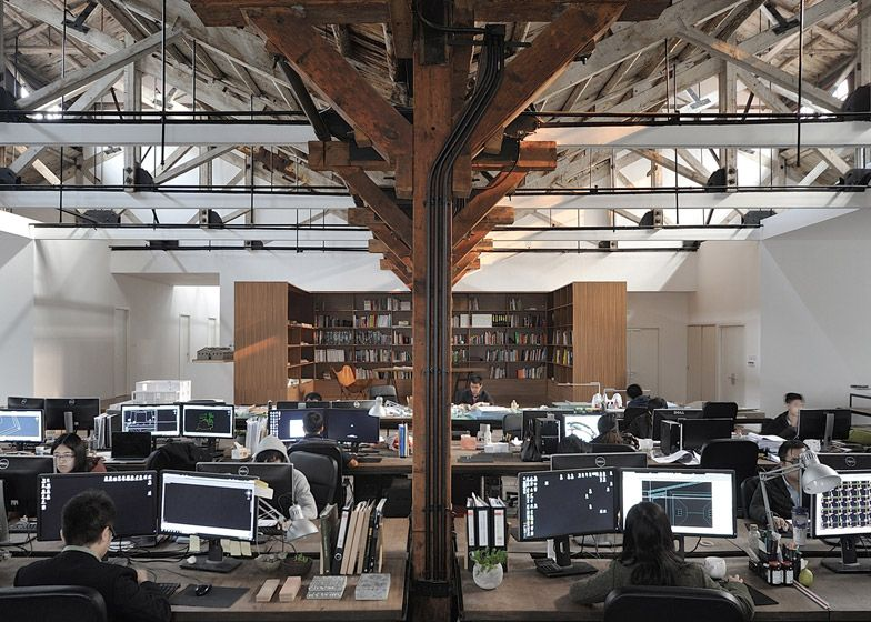 Historic Shanghai Gangsters Warehouse Renovated Into Office