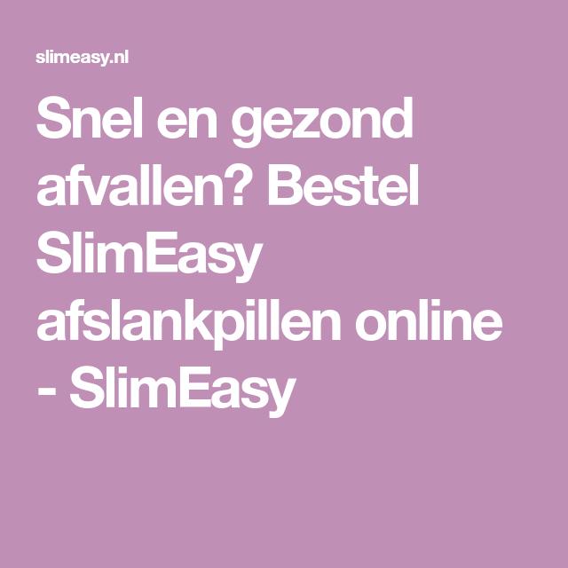 gezond afvallen online