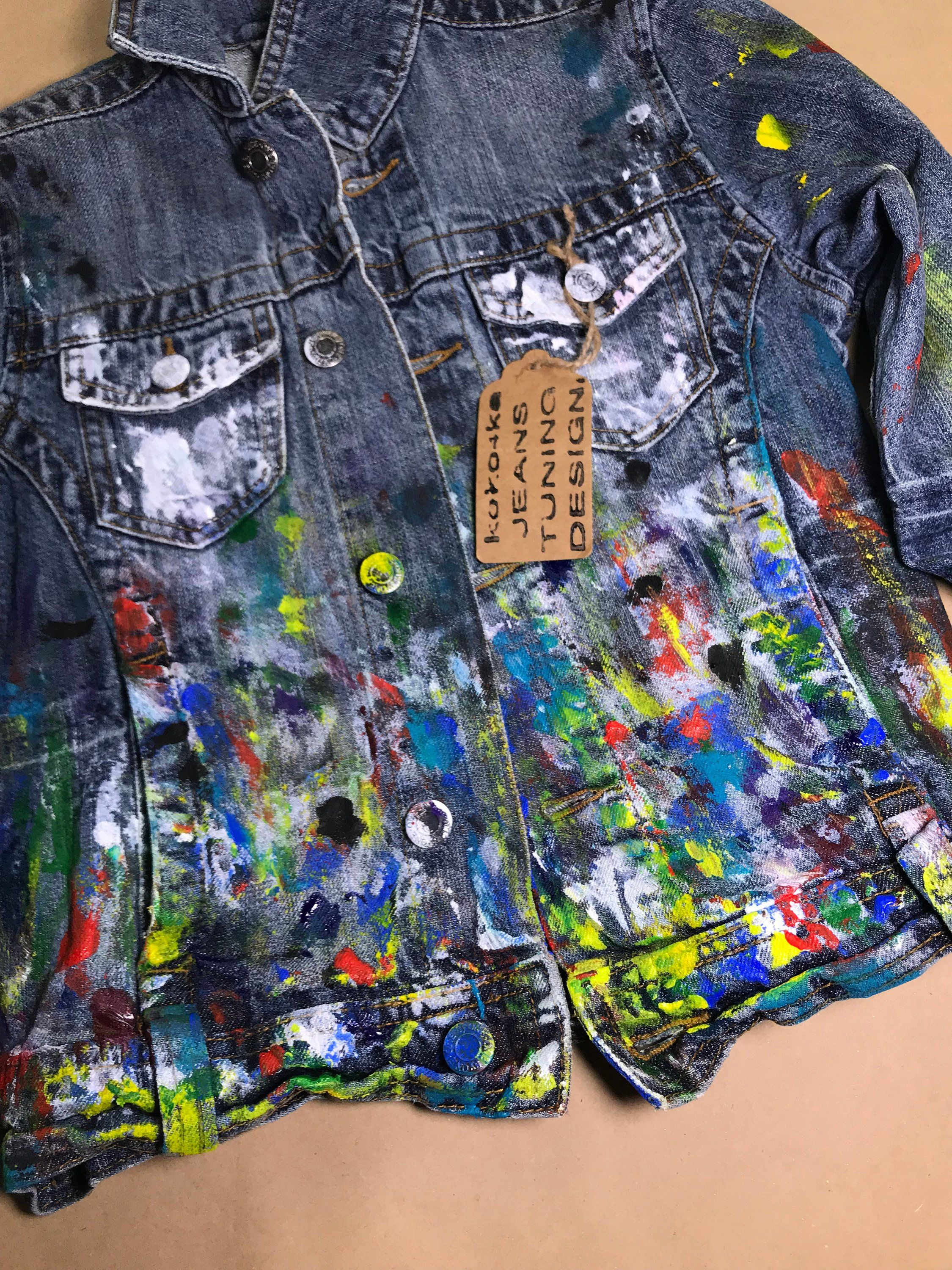 Children S Jeans Jacket Denim Jacket Festive Clothes Etsy In 2021 Festival Outfits Hand Painted Denim Jacket Embellished Denim Jacket [ 3000 x 2250 Pixel ]