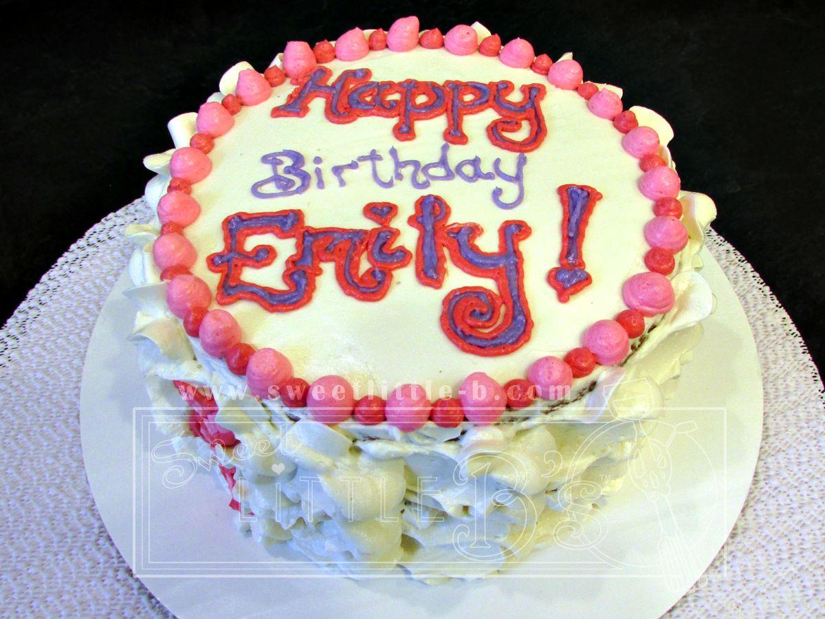 Pretty Birthday Cake. Pretty birthday cakes, Birthday