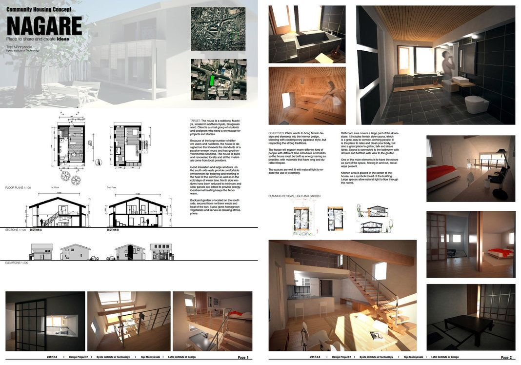interior design drawing programs - Presentation boards, Interior design presentation and Presentation ...