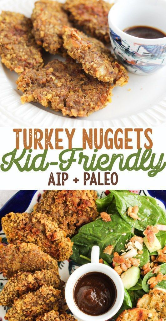 Kid Friendly Baked Turkey Nuggets Aip Paleo Recipe Aip And Paleo Dinner Recipes Paleo