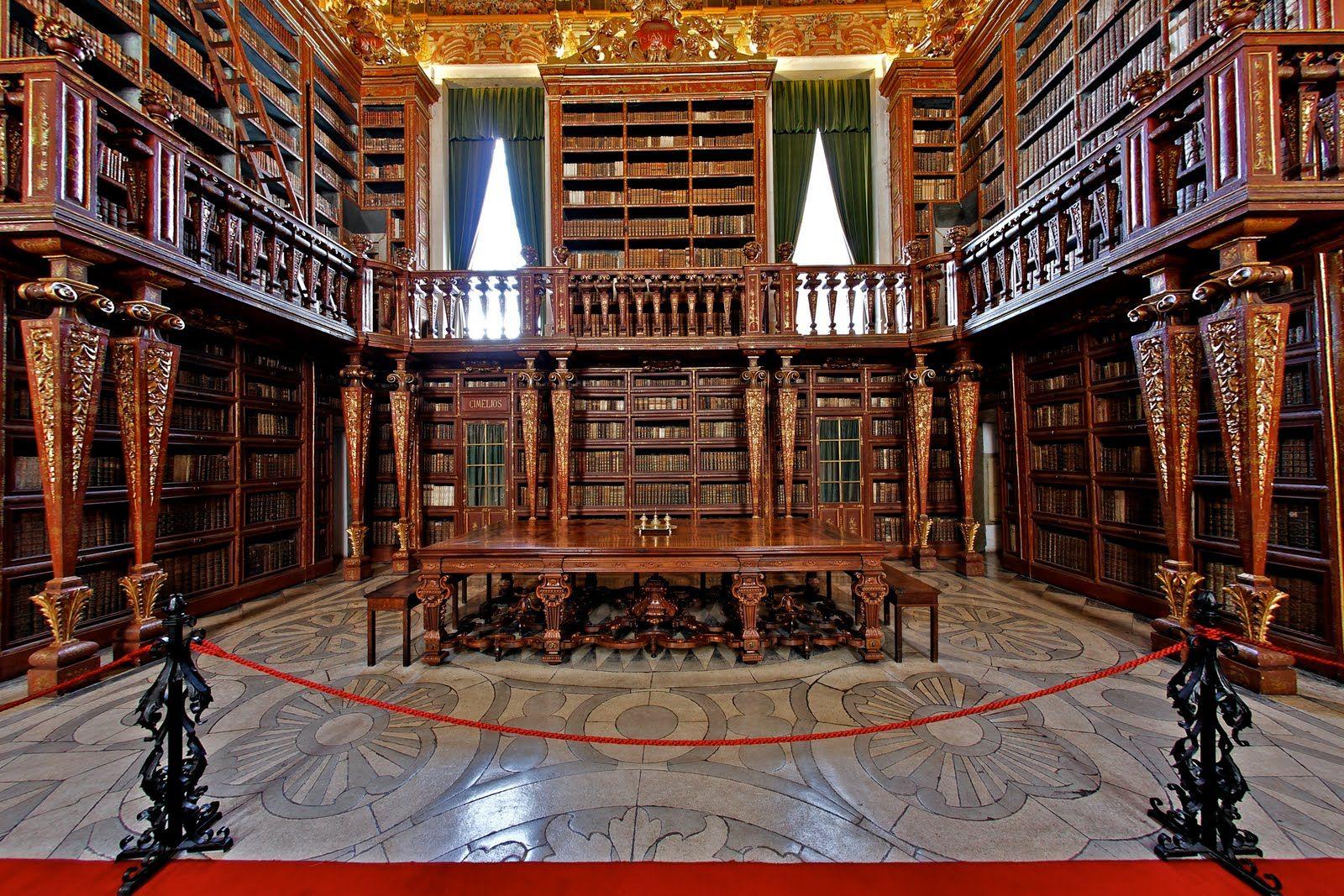 As 11 Bibliotecas Mais Incriveis Do Mundo Biblioteca Joanina