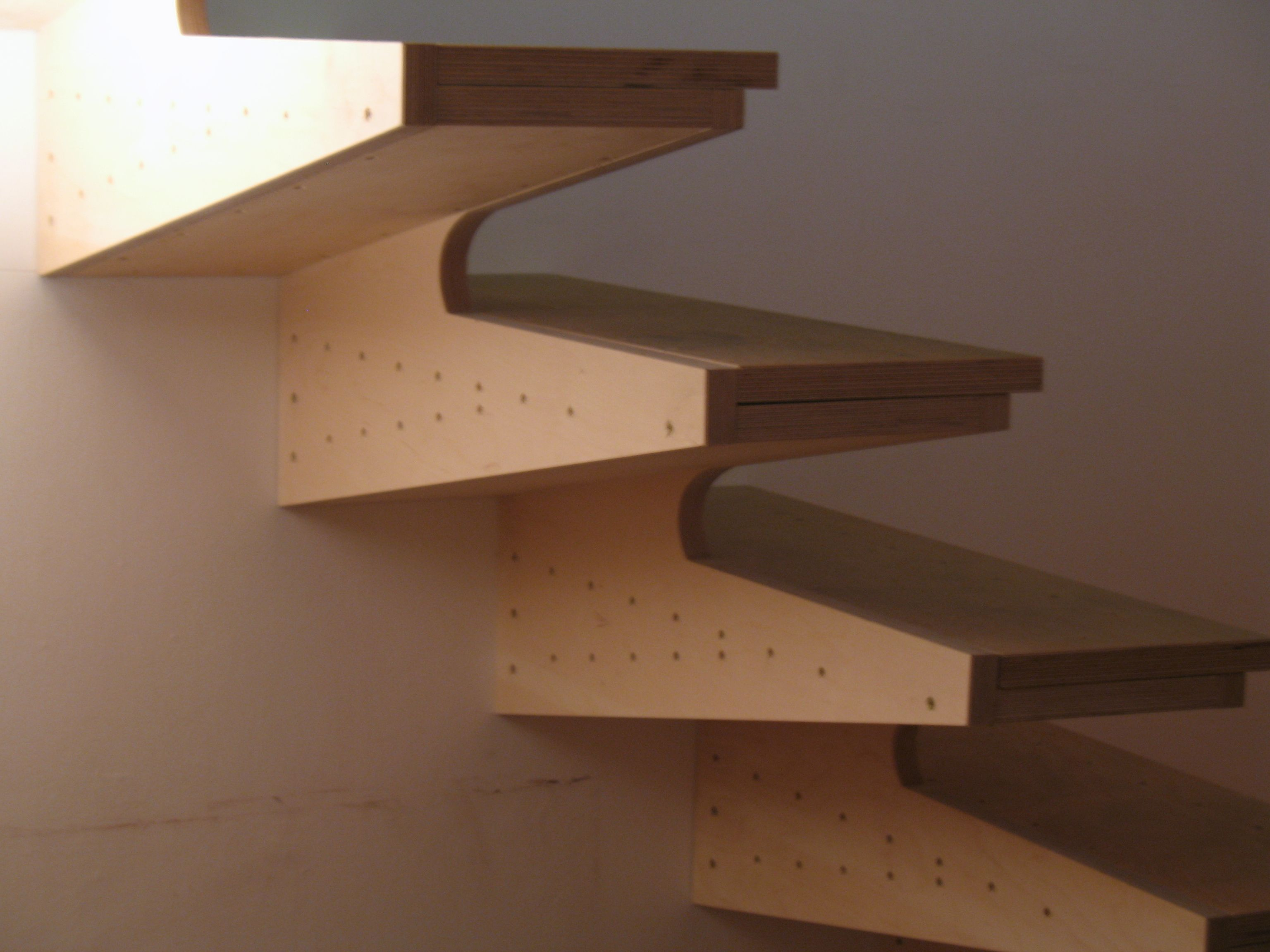 Best The Poplars Plywood Box Tread Stair Stairs Balustrade 400 x 300