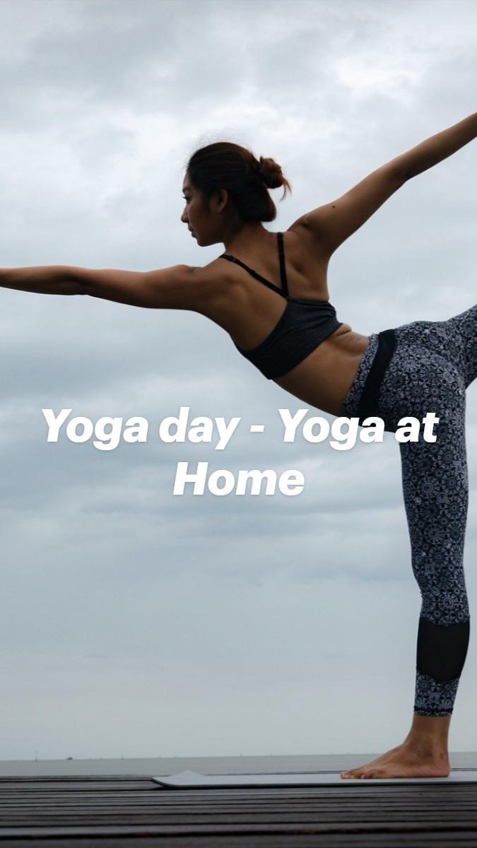 Yoga day - Yoga at Home