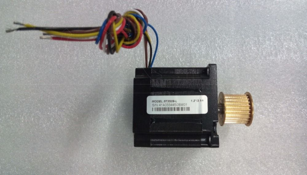 New Leadshine 3-phase stepper motor NEMA 23 output 0.9NM with gearwheel 573S09-L 6 wire should work with 3ND583 drive CNC motor