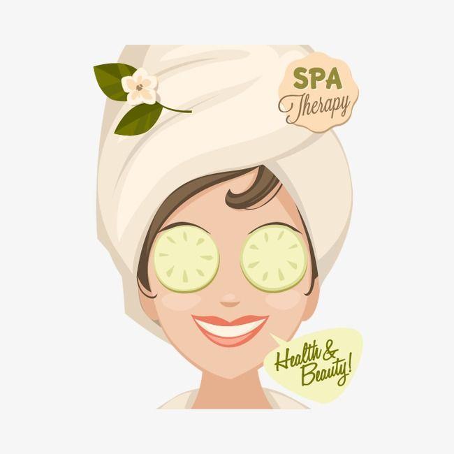 beauty vector vector spa beauty beauty paste mask cucumber slices mask woman cartoon spa vector masker wajah wajah masker muka beauty vector vector spa beauty beauty