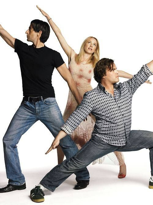 Showing Naomi Watts and Adrien Brody what true grace looks like.