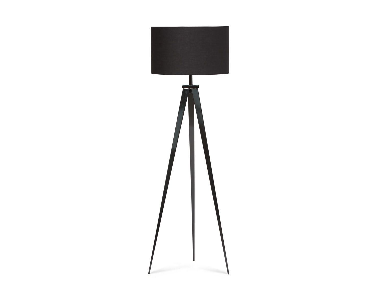 Structube Tripod Floor Lamp In Black 149
