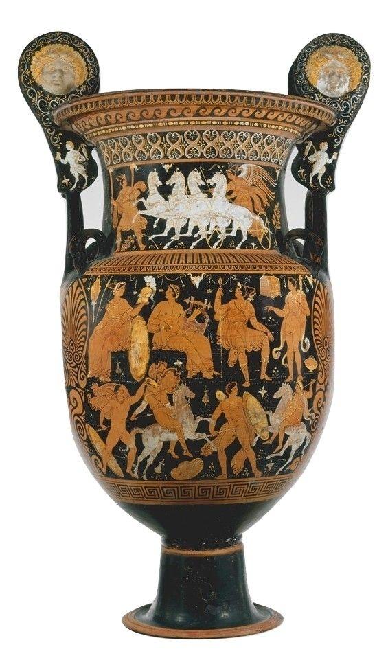 Pin di olga su anfora antica nel 2019 pinterest arte for Vasi antichi romani