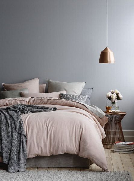Trend Color for Modern Bedrooms 2021 - Gray #interior # ...