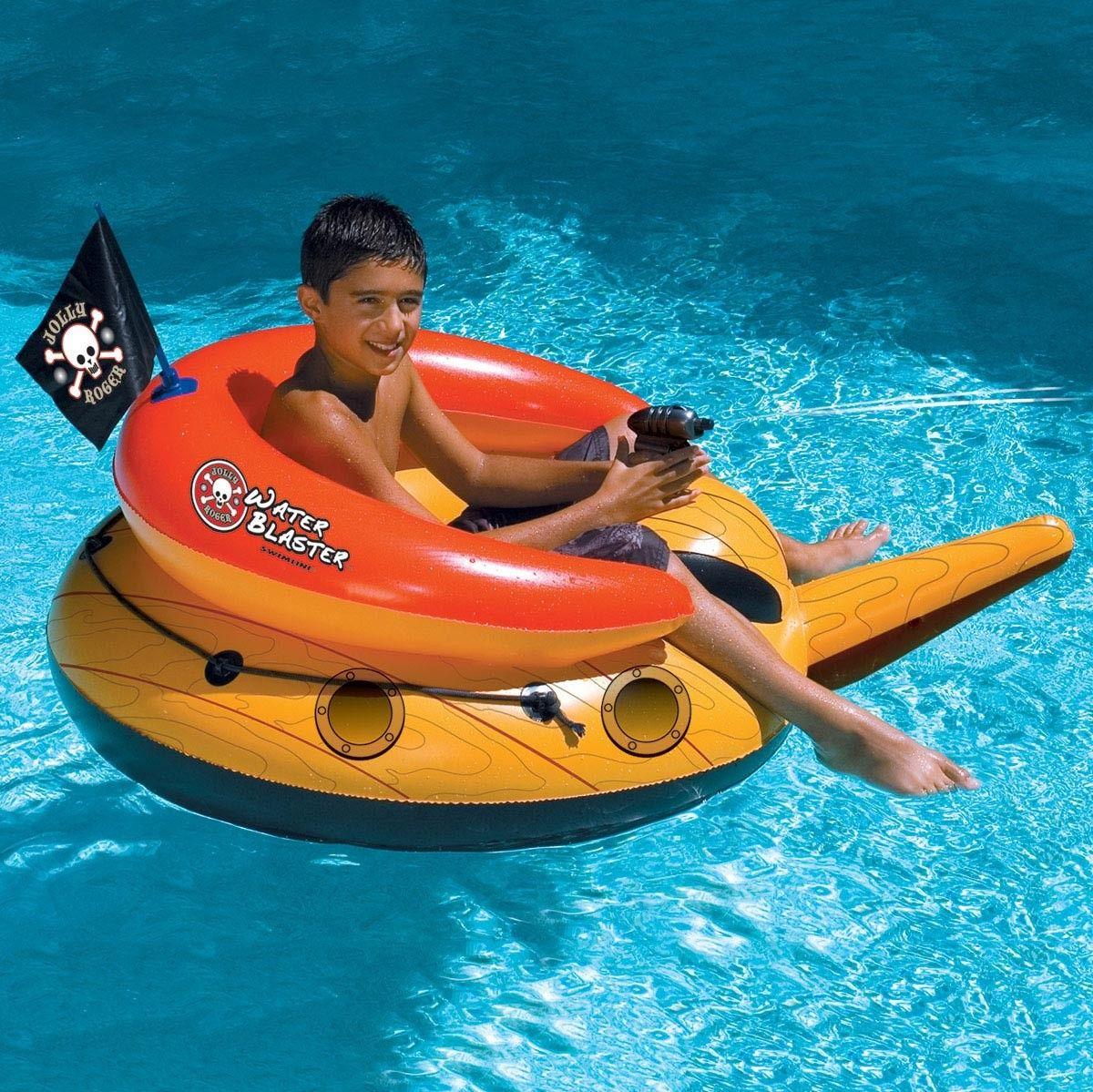Swimline Pirate Pool Float Water Blaster