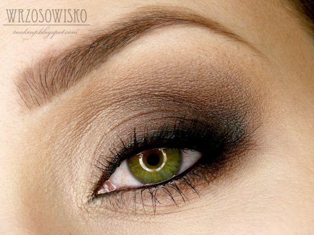 Wrzosowisko Makeup Blog Brązowe Smoky Eyes My Makeups Makeup