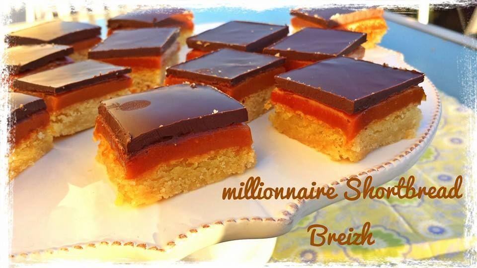 millionnaire shortbread au caramel au beurre salé