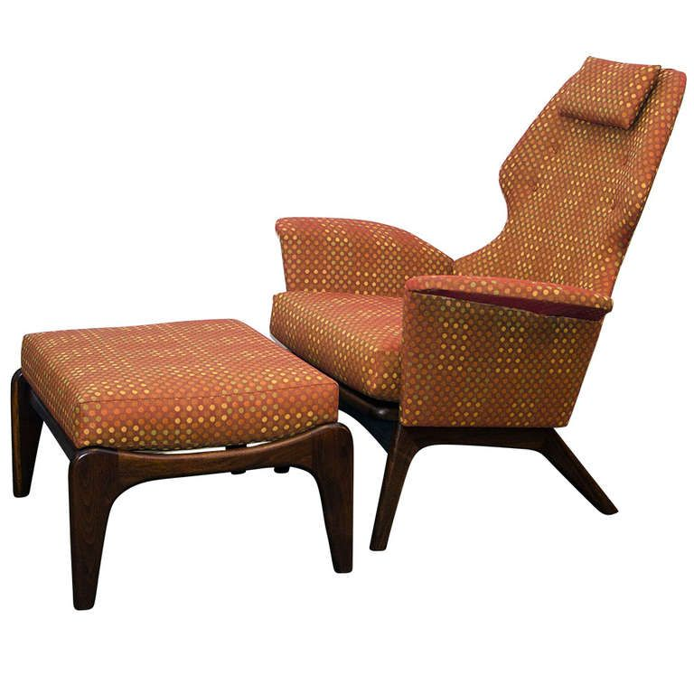 Strange Adrian Pearsall Lounge Chair Ottoman American Mid Century Gmtry Best Dining Table And Chair Ideas Images Gmtryco