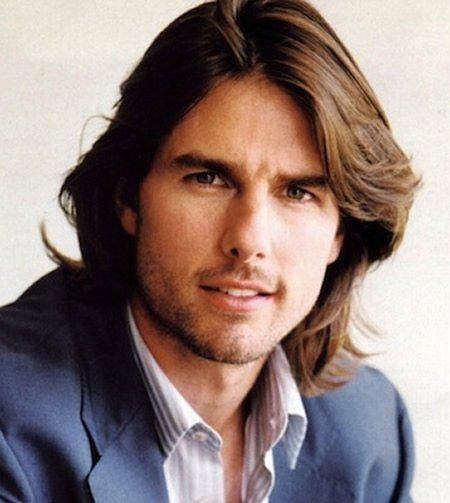 La Mantencion Del Cabello Semilargo Y Su Prolijidad No Es Cosa De Otro Mundo Es Por Ello Que En La A Tom Cruise Long Hair Long Hair Styles Men Mens Hairstyles
