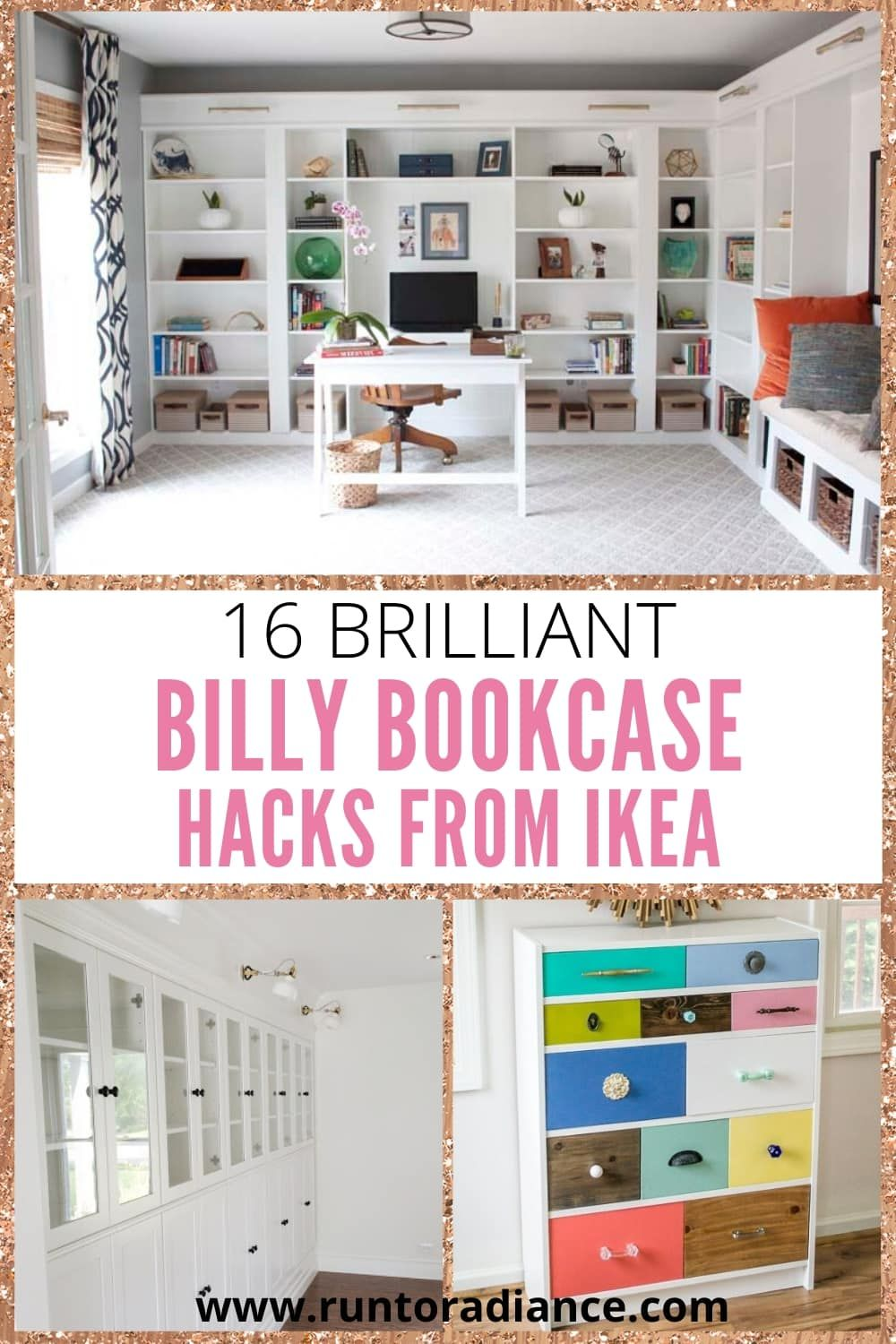 16 Brilliant Billy Bookcase Hacks From Ikea Billy Bookcase Hack Ikea Billy Bookcase Hack Bookcase