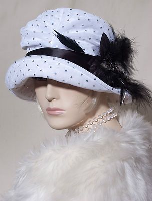 0c14c9e40c2b7 1920s VINTAGE INSPIRED CLOCHE HAT FLAPPER GREAT GATSBY