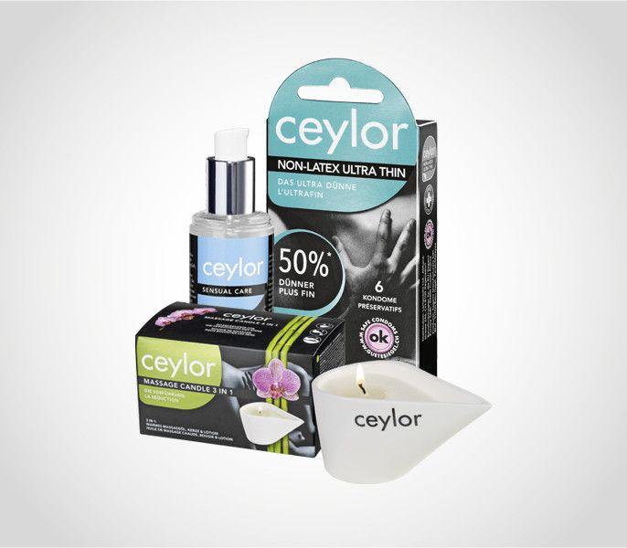 Liebe ist die schönste Sache der Welt. Schutz braucht's trotzdem, deshalb setzen wir auf die Kondome von Ceylor. Gewinnen Sie bei uns eines von 6 Sets.