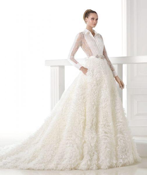 Vestidos de novia 2015 perfectos para climas fríos Image: 11