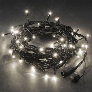 Konstsmide 4610-100 White Connectable Christmas Lights ...