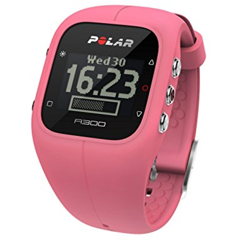 Polar Women's A300 90054238 Pink Silicone Quartz Watch