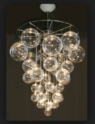Modern Chandelier Blown Glass Chandelier Diy Chandelier Hand